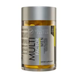 MULTI FACTOR MEN, multivitamínico (60 capsulas)