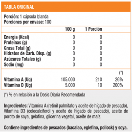 VITAMINA D - 100 softgel