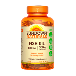 Fish Oil 1000 mg (144 softgel)