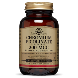 Chromium Picolinate 200 mg (90 capsulas)