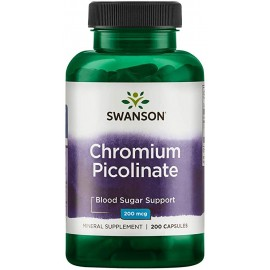 Chromium Picolinate 200 mg (200 cápsulas)
