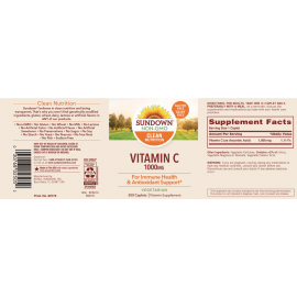 Vitamina C 1000 mg (300 caps)
