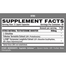 VITRIX MALE PERFORMANCE BOOSTER (80 cápsulas)