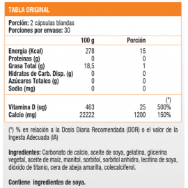 Calcio 1200 mg Plus D (60 soft)