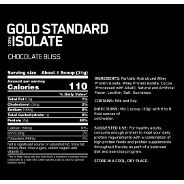 GOLD STANDARD 100% ISOLATE (5 Lb)