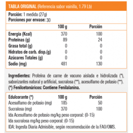 ISO 100, Isolate Protein (1,6 Lb)