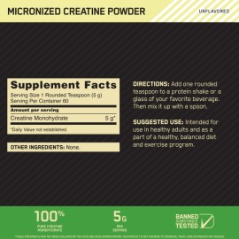 CREATINE POWDER (300 gr)