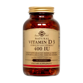 Vitamina D3 400 UI (250 soft)