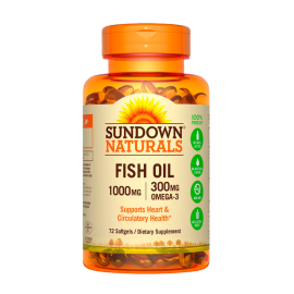 Fish Oil 1000 mg (72 soft)