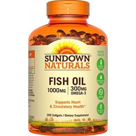 Fish Oil 1000 mg (200 soft)