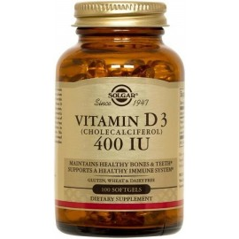 VITAMIN D3 600 IU - 100 SOFTGELS