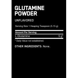 GLUTAMINE POWDER - 300 gr