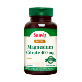 MAGNECIUM CITRATE 400mg (60 tabletas)